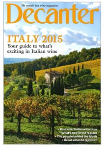 Decanter Italy 2015