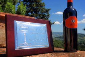 """Etrusco 2009 Campione IGT 1° Classificato al Premio """"Gusto dei Guidi"""""""