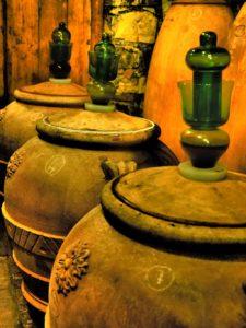 Il cocciopesto e la terracotta nella vinificazione.
