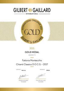 gilbert gaillard 2021 Chianti classico 2017